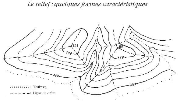 Carte Topographique Crete.Orientation